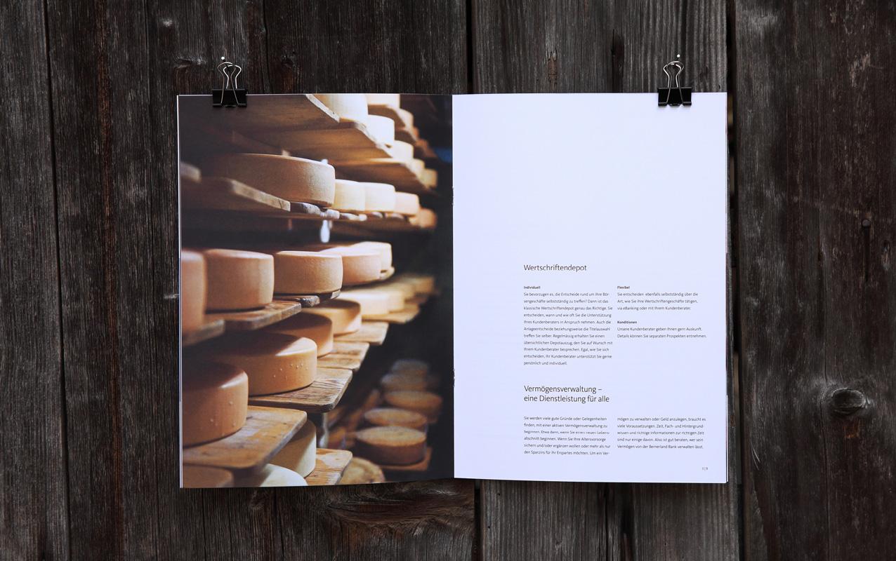 Broschüre Markenpositionierung